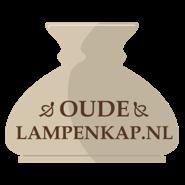 Oud Glazen Lampekapje.Welkom